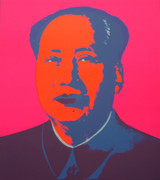 Andy Warhol Mao #3 Sunday B Morning Serigraph Silkscreen Print