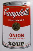 Andy Warhol Campbell Soup Can (Onion) Sunday B Morning Silkscreen Print