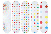 Set of 5 Skateboard Decks (Pills) by Damien Hirst