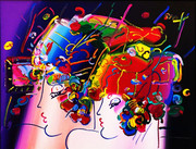 Hand Signed Mondrian Ladies By Peter Maxframed Retail $35k
