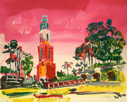 HAND SIGNED BALBOA PARK BY PETER MAX RETAIL $8.85K