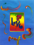 Hand Signed Love By Peter Max Retail $3.5K
