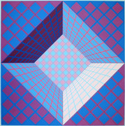 Hand Signed Pictor By Victor Vasarely Retail $3.9K