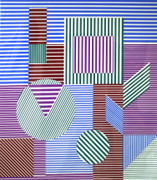Hand Signed Fondau By Victor Vasarely Retail $2.5K
