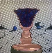 Plate Signed Tristan and Isolde By Salvador Dali Framed Retail $15K