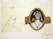 Signed One's Identity (Angeluslauten) (The Cycles Of Life) By Salvador Dali Retail $7.5K