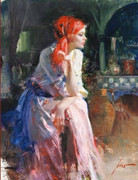Hand Signed Lost in Thought By Pino Retail $3.85K