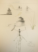 Hand Signed Le Camp Du Roi Marc By Salvador Dali Retail $5.5K
