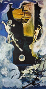 Hand Signed The Tower By Salvador Dali Retail $5.5K