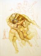Inferno Canto 8 By Salvador Dali