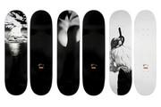 Set of 3 Skateboard Decks by Robert Longo