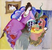 Le Salon IV by Itzchak Tarkay Retail $5.1K