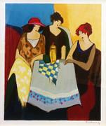 Hand Signed Trio by Itzchak Tarkay Framed Retail $1.55K