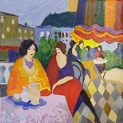 Garden Party by Itzchak Tarkay Retail $1.1K
