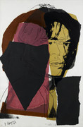 Hand Signed Mick Jagger FS II.139 By Andy Warhol Retail $90K