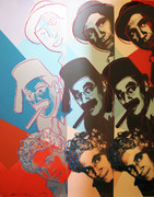 Hand Signed The Marx Brothers FS II.232 By Andy Warhol Retail $72K