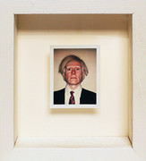 Polaroid Self Portrait By Andy Warhol Framed Retail $75K