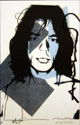 Hand Signed Mick Jagger (Invitation) By Andy Warhol Retail $4.95K