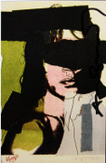 Hand Signed Mick Jagger (Invitation) 2 By Andy Warhol Retail $4.95K
