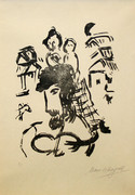 Hand Signed Poemes: Gravures V By Marc Chagall Retail $170K
