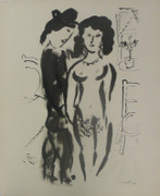 Les Amoureux By Marc Chagall Retail $3.5K