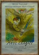 The Angel Of Judgement Signed Poster By Marc Chagall Retail $3K