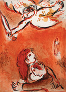 The Face Of Isreal By Marc Chagall Retail $1.65K