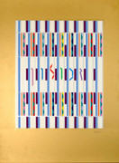 Hand Signed Zebulun By Yaacov Agam Retail $1.2K