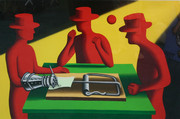 Hand Signed Art Of The Deal By Mark Kostabi Retail $3.9K