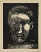 HAND SIGNED TETE DE GARCON (BLOCH 1025) BY PABLO PICASSO RETAIL $26.4K