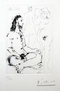 Hand Signed La Celestine (Bloch 1600) By Pablo Picasso Retail $18K
