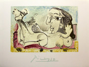 Femme Couchee A L 'Olseau by Pablo Picasso Retail $150
