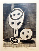 Hand Signed Nature Morte Au Verre Et La Pomme by Pablo Picasso Price on Request
