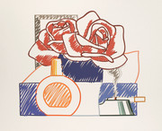 Hand Signed Scribble Version Of Still Life #58 By Tom Wesselmann Retail $23.5K