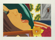 Signed Bedroom Face By Tom Wesselmann Retail $23K