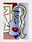 Hand Signed Art Critic By Roy Lichtenstein Retail $75K