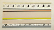 Signed Entablature VIII By Roy Lichtenstein Framed Retail $16.5K