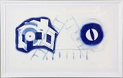 Hand Signed Tide By James Rosenquist Framed Retail $8.5K