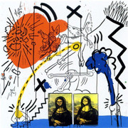 Hand Signed Apocalypse II By Keith Haring Retail $18K