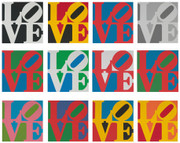 Signed The Book Of Love Suite By Robert Indiana Retail $150K