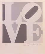 Love (G/W) By Robert Indiana Retail $12K