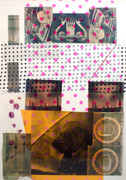 Hand Signed Caged By Robert Rauschenberg Retail $14K