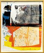 Hand Signed Fest By Robert Rauschenberg Framed Retail $10.5K