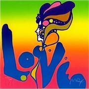 Love, Ltd Ed Silkscreen, Peter Max - Signed With Coa