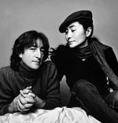 John Lennon & Yoko Ono, Vintage 1980 Gelatin Silver Photograph, Jack Mitchell