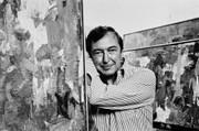 Jasper Johns, Vintage 1977 Gelatin Silver Photograph, Jack Mitchell
