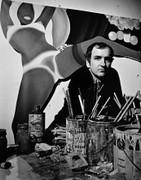 Tom Wesselmann, Vintage 1969 Gelatin Silver Photograph, Jack Mitchell