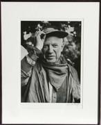 Signed Picasso a la Feria, revetu des habits de la Pena de Logrono By Lucien Clergue