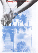 Robert Rauschenberg LACMA Exhiubition Print