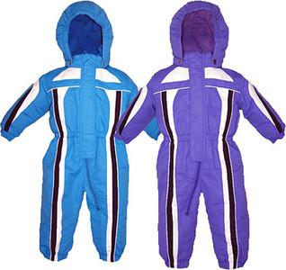 Preschool Girl's One-Piece Ski Suits